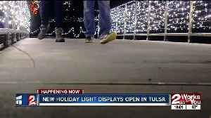 New holiday light displays open in Tulsa [Video]