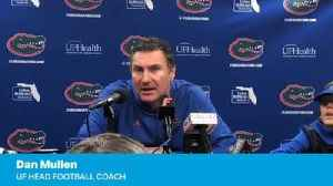 Dan Mullen on Feleipe Franks at FSU [Video]