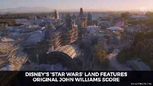 Disney Star Wars Land About To Debut With Music At Disney World [Video]