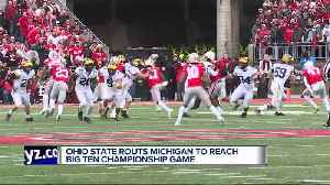 Harbaugh, Michigan players react following loss to Ohio State [Video]