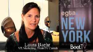Tech Giants Are Gobbling Up TV Ads: Think TV's Behr [Video]