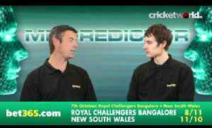 Cricket World TV - Mr Predictor - Champions League T20 Semi-Finals [Video]