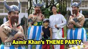 Aamir Khan's THEME PARTY for Son Azad [Video]