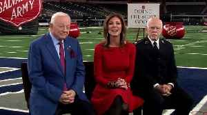 Together the Salvation Army and Dallas Cowboys Fight For Good [Video]