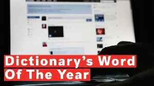 Misinformation Is Dictionary's Word Of The Year [Video]
