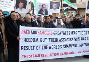 Protests Held in Kafr Nabl Following the Deaths of Prominent Activists [Video]