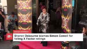 Sharon Osbourne Has A Beef With Simon Cowell [Video]
