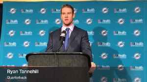 Dolphins QB Ryan Tannehill: Shoulder wasn't an issue vs. Colts [Video]
