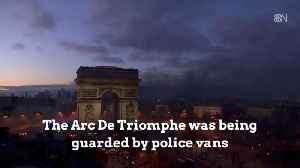 Dangerous Protests Break Out On The Champs Elysee In Paris [Video]