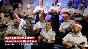 Royal Sailors Are Prepared For More Than Fighting [Video]