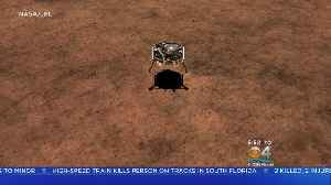 News video: NASA's InSight Mars Lander Tries To Land On The Red Planet Today