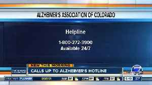 Calls increase to Alzheimer's helpline during holidays [Video]