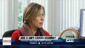 Consumer Reports: Are e-gift cards secure? [Video]