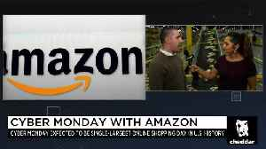 Record-Breaking Online Sales Expected Cyber Monday [Video]