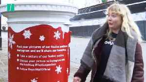 New Royal Mail Postboxes Sing & Talk For Christmas [Video]