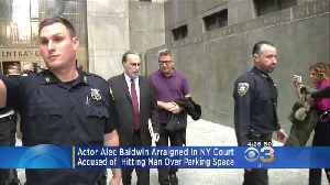 Alec Baldwin Appears In Court After Allegedly Hitting Man Over Parking Dispute [Video]