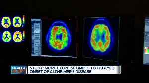 Study: More exercise linked to delayed onset of Alzheimer's [Video]