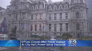 Philadelphia City Hall Closed After Power Outage [Video]