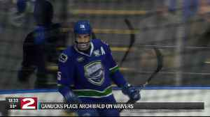 Archibald clears waivers, on his way back to Utica [Video]