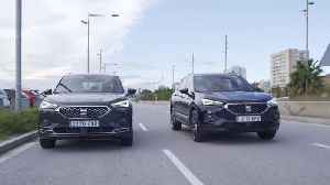 The new SEAT Tarraco in Dark Camouflage and Atlantic Blue [Video]