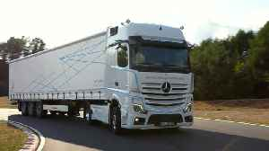 Tomorrow's design today – the new Mercedes-Benz Actros [Video]