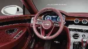 Bentley Continental GT Convertible Heating Graphical Overlay [Video]