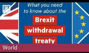 What you need to know about the Brexit withdrawal treaty [Video]