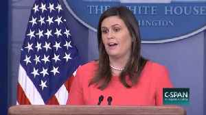 Sarah Huckabee Sanders Says Climate Change Report 'Not Based On Facts' [Video]