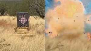 Gender Reveal Goes Wrong When Explosives Cause Arizona Forest Fire [Video]