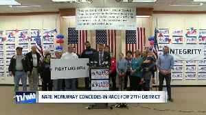 Nate McMurray concedes in race for New York's 27th Congressional District [Video]