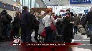Wintry blast causes more than 1,000 flight cancelations, blizzard warning for millions [Video]