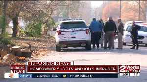 Homeowner shoots, kills intruder in midtown Tulsa [Video]