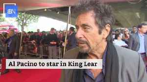 Al Pacino To Headline King Lear Movie [Video]