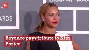 Beyonce Broken Hearted Over Loss Of Friend Kim Porter [Video]