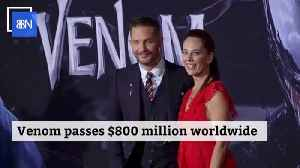 Venom Earns More Than 800 Million At The Box Office [Video]