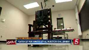 Do TN death row inmates challenging lethal injection face a