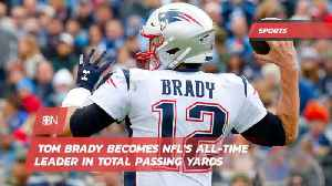 Tom Brady Is Now The All Time NFL Passing Leader [Video]