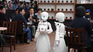 Robot waiters provide new work opportunities for Japan's disabled [Video]