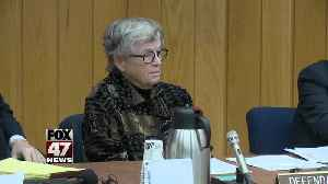 Lou Anna Simon arraigned on charges of lying [Video]