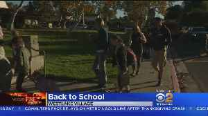 Students Return To Schools Forced To Close By Woolsey Fire [Video]