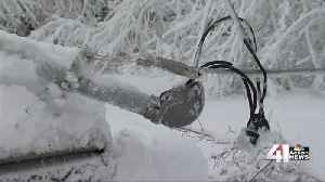 Ice, electricity a dangerous winter combination [Video]