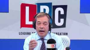 Nigel Farage's Migrant Warning Over Dover-Calais Crossing [Video]