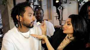 See How How Miguel and Nazanin Mandi Prepped for Their Wedding [Video]