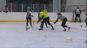 Baltimore Broomball League Starts Up For Winter [Video]