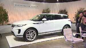 The London launch of the New Range Rover Evoque [Video]