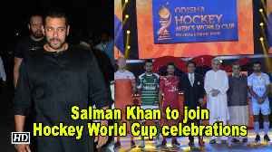 Salman Khan to join Hockey World Cup celebrations in Cuttack [Video]