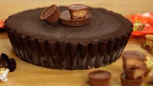 The Giant, No-Bake Peanut Butter Cup Recipe You Never Knew You Needed [Video]