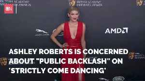 Ashley Roberts Is Concerned About Backlash From Dancing Show [Video]