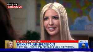 What Happened to Ivanka Trump's Voice? [Video]