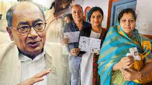 MP Elections 2018: Digvijay Singh का आरोप, कहा Congress के &#x [Video]